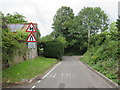 ST4156 : Minor road at Winscombe by Malc McDonald