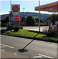 SO5012 : July 12th 2020 Shell fuel prices, Overmonnow, Monmouth by Jaggery