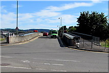 SO5012 : Three bridges over the River Monnow, Monmouth by Jaggery