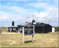 TR0916 : The Britannia Inn by Des Blenkinsopp