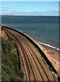 SX9473 : Railway line, Teignmouth by Derek Harper