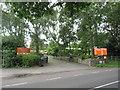ST4652 : Cheddar Bridge touring park entrance by Malc McDonald