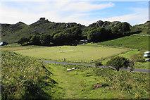 SS7049 : Cricket in The Valley of Rocks by Bill Boaden