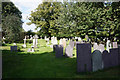SK7439 : Graveyard at St John of Beverley Church, Whatton in the Dale by Ian S