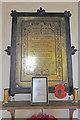 TM1897 : Flordon WW1 War Memorial by Adrian S Pye