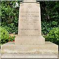 SJ7578 : Over Knutsford War Memorial Dedication by David Dixon