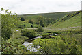 SS7838 : River Barle above Flexbarrow by Bill Boaden