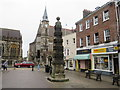 SY6990 : Dorchester town pump by Malc McDonald