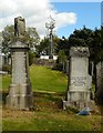 NS5572 : Phone mast beside the cemetery by Richard Sutcliffe
