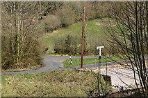 TQ5538 : Tea Garden Lane, High Rocks Lane junction by N Chadwick