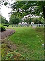 NS4490 : Graveyard: Buchanan Parish Church by Jim Smillie