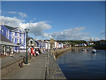 SN4562 : Aberaeron on August Bank Holiday weekend by Jeremy Bolwell