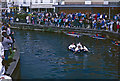 TL8683 : Racing on the Little Ouse River at Thetford by Stephen McKay