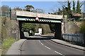 TQ5738 : Railway bridge over A26 by N Chadwick