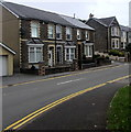 SO2508 : Short row of stone houses, Cwmavon Road, Blaenavon by Jaggery