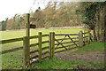 SE3461 : Gate on Knaresborough Round by Derek Harper
