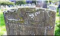 TM1178 : The headstone of John Catchpole  (detail) by Adrian S Pye