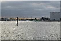 SZ6299 : Haslar Marina across Portsmouth Harbour by N Chadwick