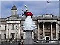 TQ2980 : 'The End' on The Fourth Plinth, Trafalgar Square by PAUL FARMER