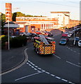 ST3089 : Fire engine returning home, Malpas, Newport by Jaggery