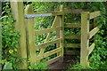 SD5597 : Kissing gate between 2 farm tracks, Shaw End, Patton Bridge by Rich Tea