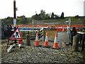 NS5966 : Bridge closed by Richard Sutcliffe