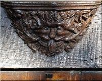 TF3244 : Chorister Seat 17 - St Botolph's Church, Boston by Neil Theasby