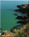 SX9049 : Coast at Kelly's Cove by Derek Harper