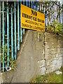 NS5966 : No through road by Richard Sutcliffe