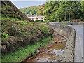 SD9126 : River Calder at Vale by David Dixon