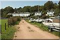 SX8751 : Boat park, Dartmouth by Derek Harper
