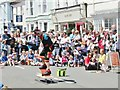 SU5832 : Alresford Watercress Festival - Street Performer by Colin Smith