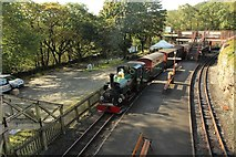 SH6441 : The 10.00 a.m. train from Porthmadog arrives by Richard Hoare