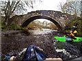 NS4703 : Stone Bridge over the River Doon by Andy Waddington