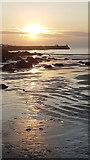 SW3526 : Evening sun and sand ripples on Sennen beach by Rod Allday
