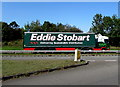 ST3487 : Eddie Stobart articulated lorry on the A48, Newport by Jaggery