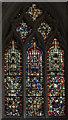 ST5545 : Window sIV, Wells cathedral by Julian P Guffogg