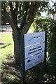 TF0733 : Millennium Green sign by Bob Harvey