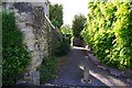 SP2512 : Passageway to Sylvester Close, Burford, Oxon by P L Chadwick