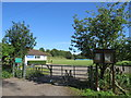 SY6688 : Martinstown Cricket Club, near Dorchester by Malc McDonald