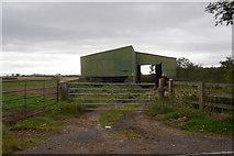 NZ3520 : Barn near Newstend Farm, Little Stainton by Ian S