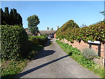 TL9836 : Constable, that's a Gainsborough: Church Lane, Stoke by Nayland by Basher Eyre