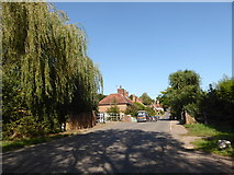 TM0335 : Constable, that's a Gainsborough: Lower Street, Higham by Basher Eyre