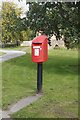 NZ2011 : NHS Priority Postbox, Aldbrough St John by Ian S