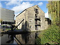 SE1416 : Huddersfield Narrow Canal and a converted warehouse by Chris Allen