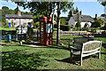 ST9515 : Village scene, Farnham by David Martin