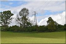 TQ5843 : Pylon by N Chadwick