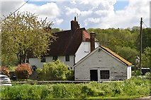 TQ5943 : Moat Farmhouse by N Chadwick