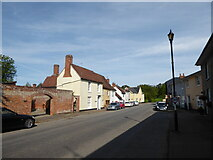 TM0433 : Constable, that's a Gainsborough: Lower Street, Stratford St Mary by Basher Eyre