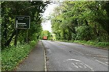 TQ5743 : A26, southwards by N Chadwick